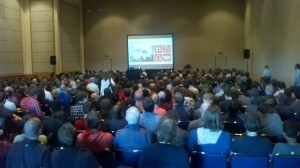 RailsConf sessions were packed!