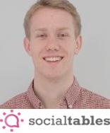 Social Tables Marketing Manager Trevor Lynn